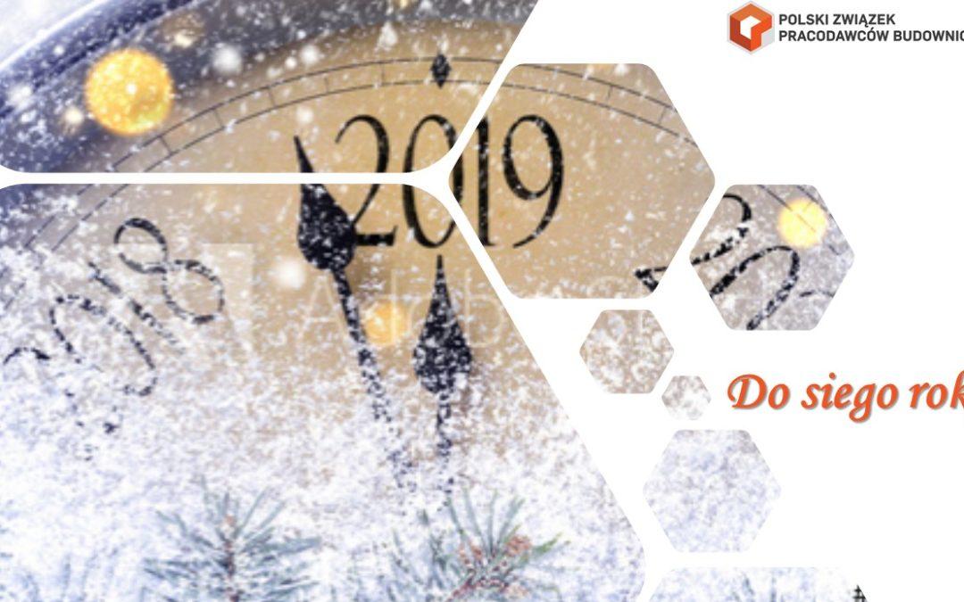 Nowy 2019 Rok – niech będzie lepszy!