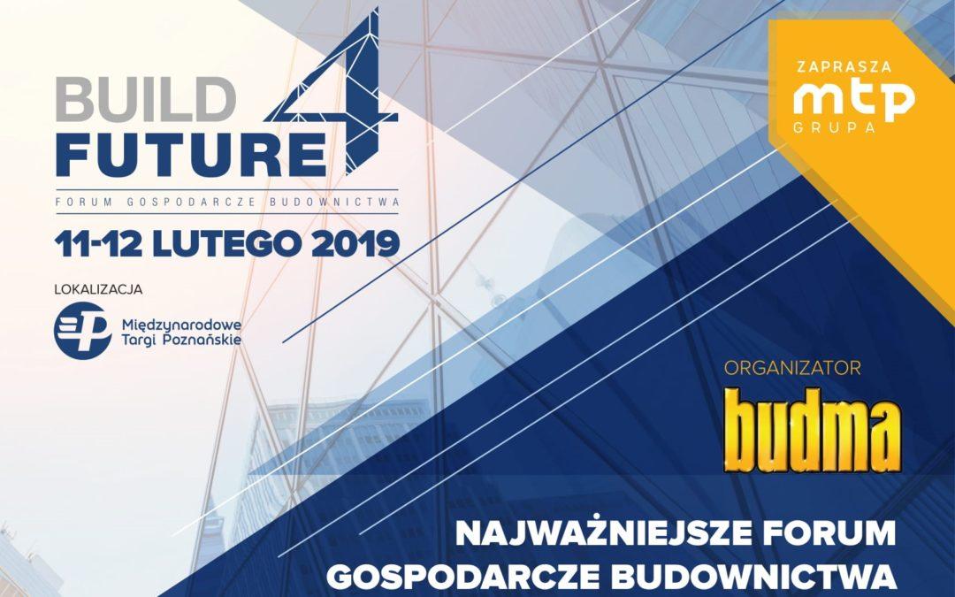 II dzień Forum Build 4 Future podczas Budmy 2019